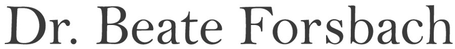 Dr. Beate Forsbach Retina Logo